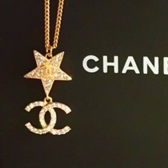 Authentic gold Chanel necklace